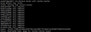 Rancher2.x的安装与使用